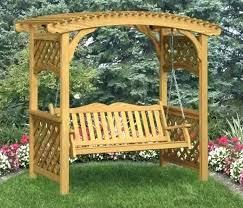 garden arbor plans swing plans trellis bench garden arbor with bench swing garden