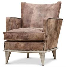 Oversized Accent Chairs Ashville Cigar Bar Masculine Solid Accent Arm Chair Kathy Kuo Home