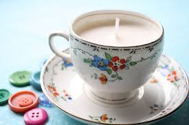 tea cup candles teacup candles forgotten china