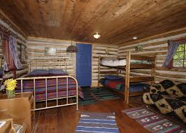 Log Home Interior For Example If A Log Cabin Uses Upscale Natural Materials Such
