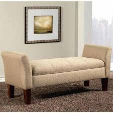 ottoman bench with arms upholstered storage bench upholstered storage bench upholstered