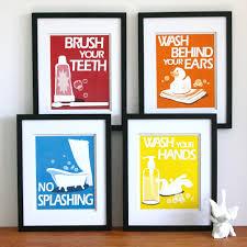 bathroom art ideas etsy best bathroom decoration