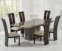 casalivin black or brown clawton marble dining table