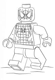 lego spiderman coloring free printable coloring pages