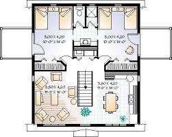 cool floor plans garage plan chp 6805 at coolhouseplans