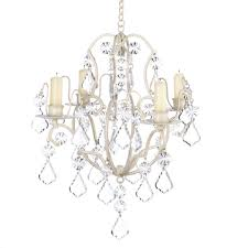 Chandeliers For Less by Amazon Com Gifts U0026 Decor Ivory Baroque Candle Chandelier Iron