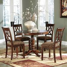 Ashley Dining Room Furniture by Ashley Furniture Leahlyn Round Dining Table Set Best Priced