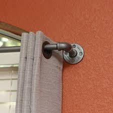 industrial pipe curtain tie back industrial envy llc
