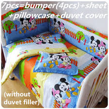 Mickey Mouse Clubhouse Crib Bedding Transportation Bedding Set Tokida For