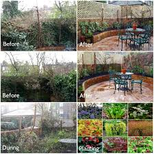 Overgrown Garden Gardens Before And After Make The Most Of Your Garden