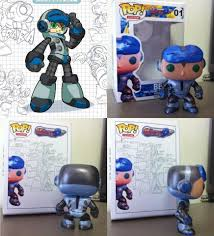 custom funko pop beck mighty no 9 by dstyles customs for more of