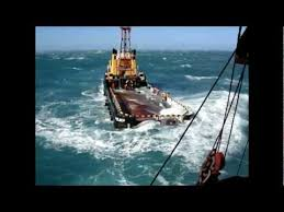 Deck Rating Jobs by Dangerous Job On Deck Supply Tugs Offshore Services Youtube