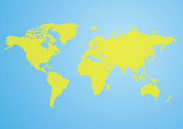 world map vector free vector world map