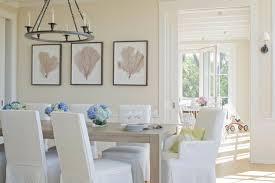 Ideas For Summery Dining Room Decor - Beachy dining room