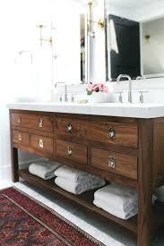 sinks rustic wooden sink vanity dark wood unit antique bathroom