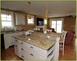 Blue Countertop Kitchen Ideas Beautiful Granite Colors For White Cabinets Including Titanium