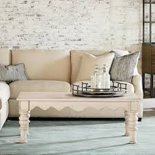 nebraska furniture coffee tables farmhouse scallop coffee table in antique white nebraska furniture