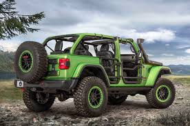 jeep green 2017 refreshing or revolting 2018 jeep wrangler motor trend