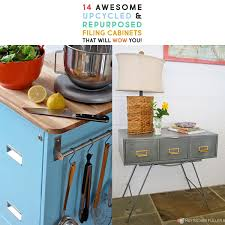 files cabinet by awesome table 14 awesome upcycled and repurposed filing cabinets that will wow you
