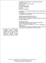 dispense haccp catalogue de formation qualit礬 hygi礙ne et s礬curit礬 alimentaire