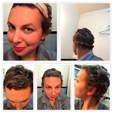 chemo curl hairstyle hair style my little bs have the big c