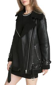 genuine leather motorcycle jacket women u0027s coats u0026 jackets nordstrom