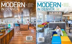 Modern Furniture In Denver by Vantia Featured In Modern In Denver Magazine Vantia Hardwoods