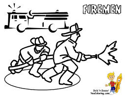 service transportation coloring emergency vehicles buses fire