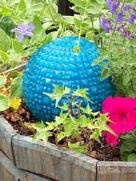 Diy Garden Art Diy Glowing Garden Ball U2014 Crafthubs