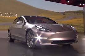 new tesla model 3 officially unveiled and you can order one