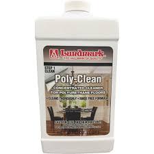 poly clean floor cleaner walmart com