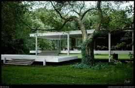 mies van der rohe farnsworth house by alessandro prodan 3d