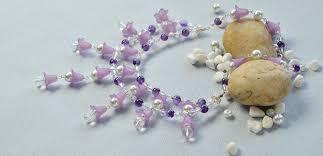 flower bead necklace images Diy jewelry making jewelry pendants jpg