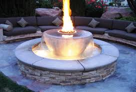 gas fire pits outdoor patio decor ideas nice fireplaces firepits