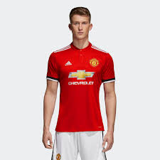 Manchester United Adidas Manchester United Home Replica Jersey Adidas Us