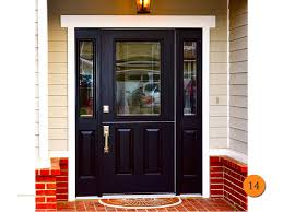 Exterior Door Wood Black Exterior Doors Livegoody