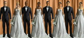 biracial wedding cake toppers wedding cake topper wedding cake idea