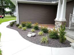 small front yard landscaping ideas with rocks the garden