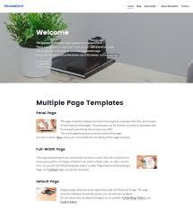 shoreditch free responsive wordpress theme freebies blog business