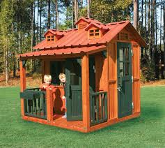 funny and cute kids exterior playhouse design inspiration outdoor