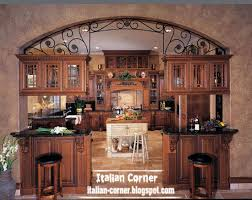 Italian Kitchen Furniture Luxury Italian Kitchen Designs With Wooden Cabinets Furniture