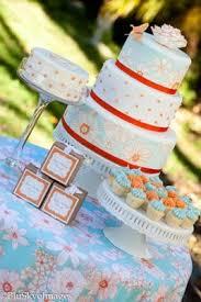 kara u0027s party ideas orange blue baby shower archives kara u0027s party