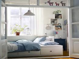 small room sofa bed ideas beautiful white wood glass cool design ikea small bedroom ideas for