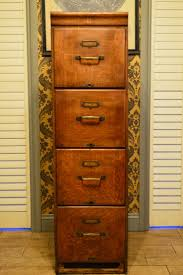 Wood Filing Cabinets 4 Drawer by File Cabinet Furniture For Storage Table Top Is Slightly Warped