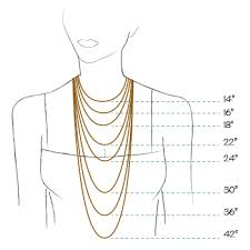 necklace size images Sasha necklace silver rose gold shaya nyc jpg
