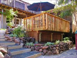 outdoor ideas awesome covered deck ideas unique deck railing
