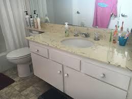 Marble Top For Bathroom Vanity Diy Faux Marble Countertop Update Anika U0027s Diy Life