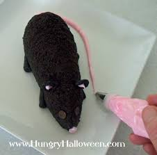 sweet cookies and cream halloween cheese ball rat hungry happenings