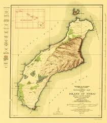 Topographic Map Of Michigan by Old Topographical Map Niihau Island Hawaii 1929