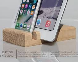 decorative charging station wooden ipad stand ipad docking station wood ipad holder men